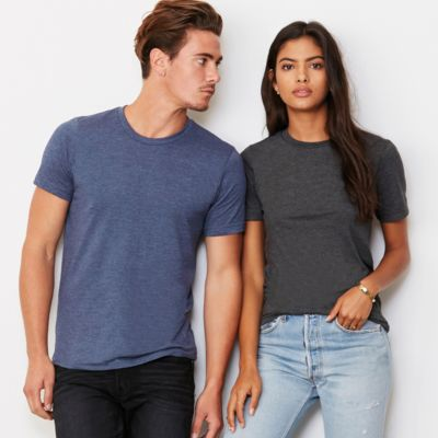 Premium Unisex Heather T Shirt by Bella & Canvas Thumbnail